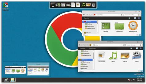 chrome themes for windows 8 chromium skin pack for windows 8