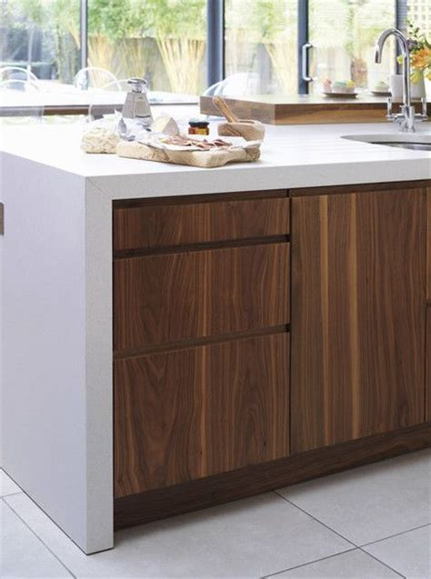 modern walnut kitchen cabinets best 25 walnut kitchen cabinets ideas on pinterest