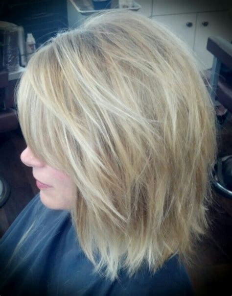 medium length stacked hair cuts mid length stacked bobs short hairstyle 2013