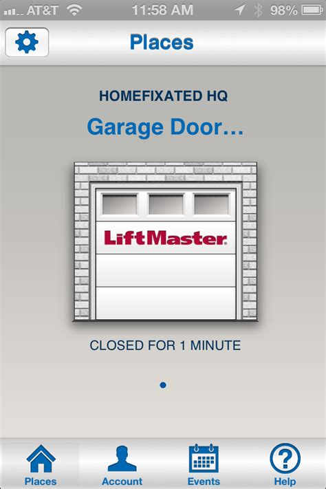 Garage Door Opener App For Iphone by Liftmaster Garage Door Opener We Review The 8550 With