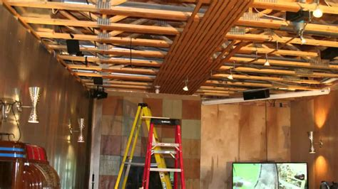 How To Put Wood On Ceiling by Wood Ceiling Installation