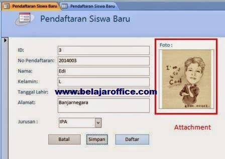 cara membuat query ms acces 2010 cara menambahkan foto pada form office access