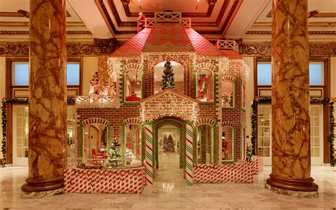 best decorated holiday houses san francisco the best hotel gingerbread houses travel leisure