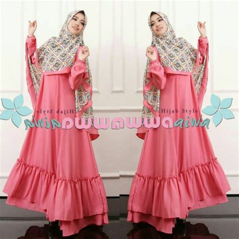 Jual Baju Syari Terbaru jual baju model gamis syar i terbaru murah aesha marocco hawwa toko baju gamis murah