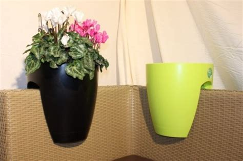 modern balcony planters modern planters for a balcony or any other space with railing digsdigs