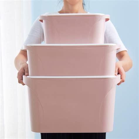 clothing wardrobe box plastic clothes storage box wardrobe finishing boxes large