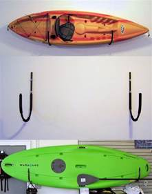 kayak or canoe wall storage rack pack em racks