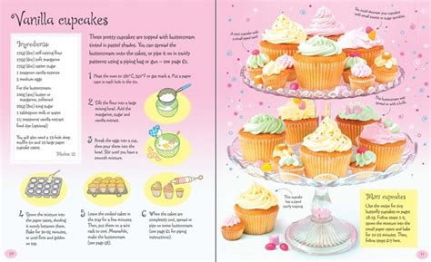 Chil Go Vanilla 1 Pags children s cupcake kit at usborne children s books