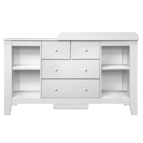 baby change table dresser drawer baby chest change table dresser cabinet white