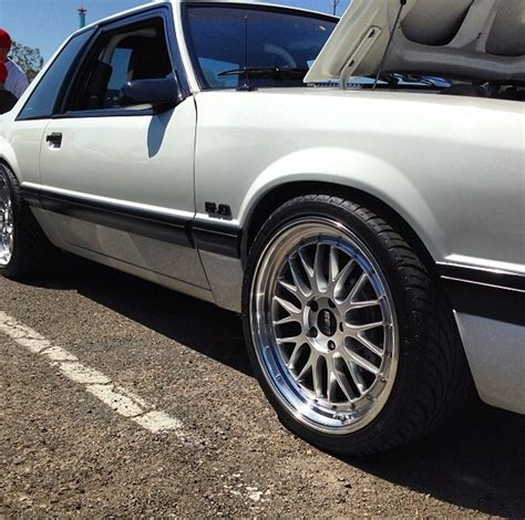 bbs wheels on a foxbody notch mustang mustang