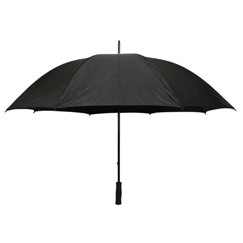 Firm Grip 5 ft. Golf Umbrella in All Black 38124   The