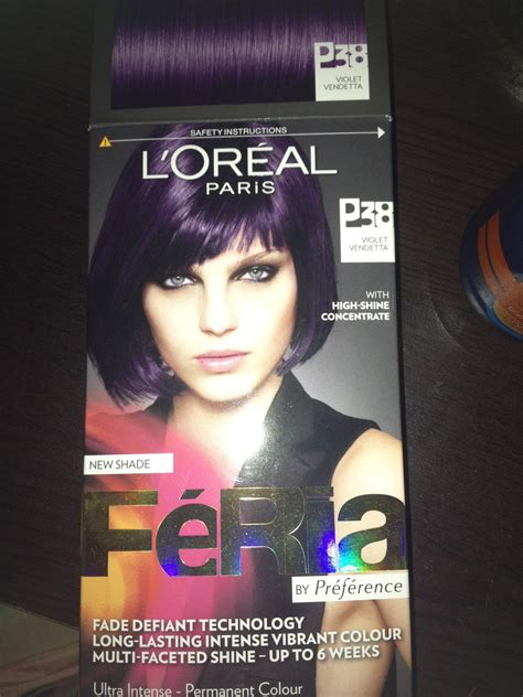 the gallery for gt loreal loreal feria hair color purple loreal hair color purple