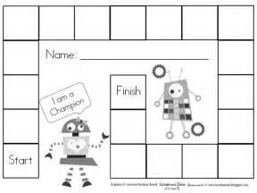free printable blank board games education pinterest