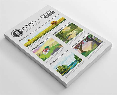 layout portfolio word free resume cv templates in psd ai indesign pdf