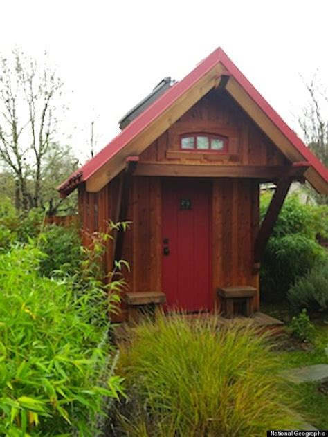 shafer tiny houses shafer tiny house owner gives a tour of his 106 square foot home huffpost