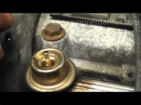 replacing  fuel pressure regulator    chevy silverado   funnycattv