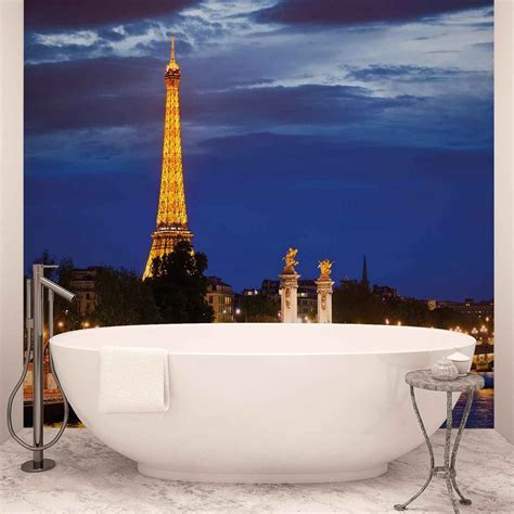 Eiffel Tower Wall Mural the eiffel tower wall paper mural buy at europosters
