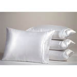 cannon white satin pillow cover shop your way