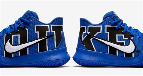 duke basketball shoes the nike kyrie 3 duke is available now weartesters