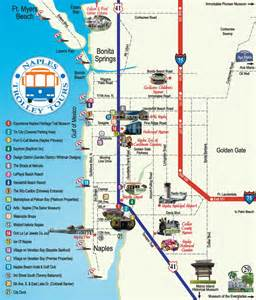 map of florida showing naples pictures to pin on