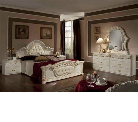 rococo bedroom set dreamfurniture com rococo italian classic beige