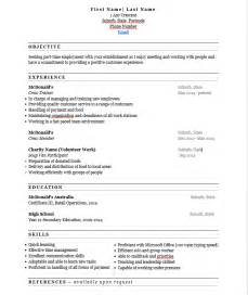 sle resume for 2 years experience cashier experience on resume