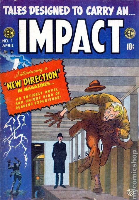 impact books impact 1955 ec comic books