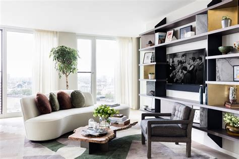 flat living room designs curved sofa in modern living room living room ideas houseandgarden co uk