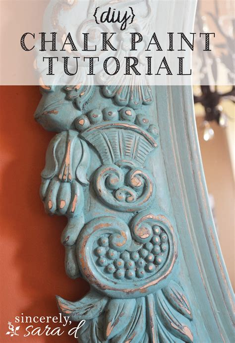 chalk paint tutorial español the yellow painted hutch sincerely d