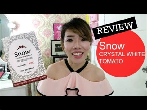 Snow White Supplement review snow white tomato quot sunscreen