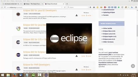 zxing tutorial android eclipse tutorial instalasi eclipse android youtube