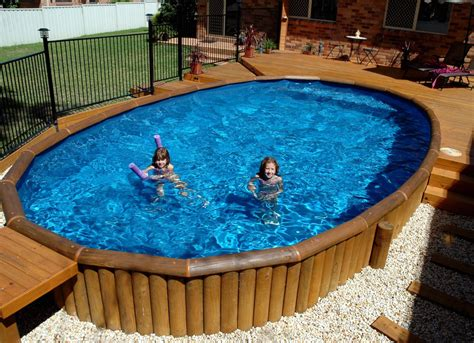 How To Decorate An Above Ground Pool by Tips To Make Perfectly Balanced Decks For Above Ground