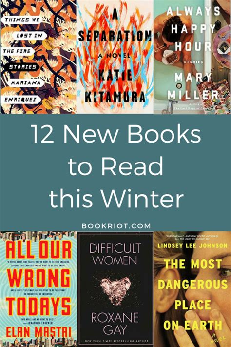 new book 12 new books for winter 2017
