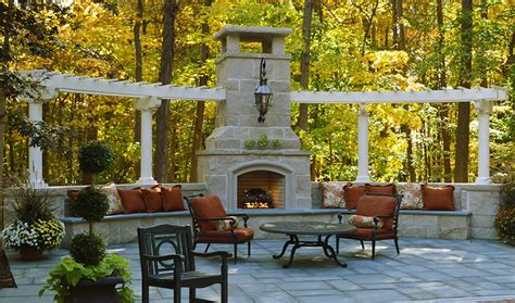 pergola with fireplace outdoor fireplace pergola outdoor goods
