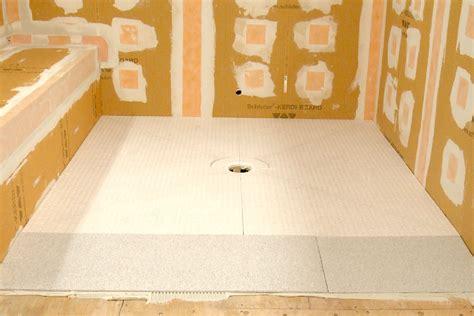 SCHLUTER® KERDI SHOWER RAMP   Bath and Taps