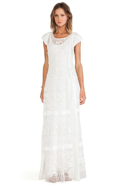candela clothing candela annika dress in ivory revolve get hitched