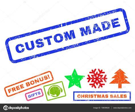 custom made rubber st custom made rubber st stock vector 169 anastasyastocks