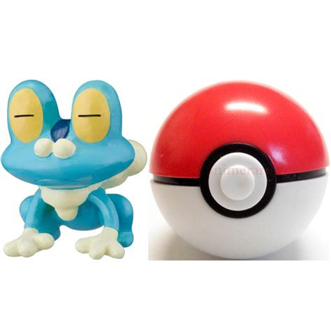 Pokeball Satuan Figure One Pokeball Nendoroid Goingmerry xy keshipoke vol 1 mini figure with pokeball 03 froakie