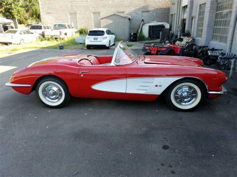 58 corvette for sale 1958 corvette for sale automatic upcomingcarshq
