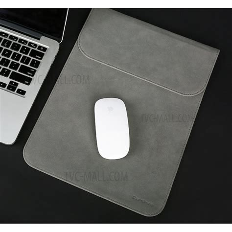 116 Inch Ultra Thin Laptop Sleeve Cover Grey cartinoe 13 3 inch ultra thin matte pu leather laptop sleeve bag pouch size 265 x 360mm