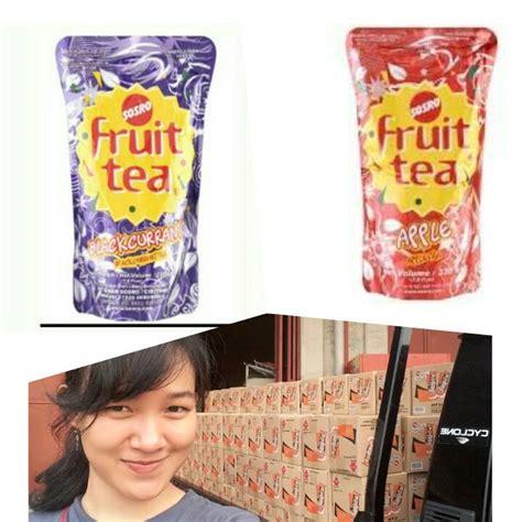 Teh Botol Sosro 230ml open order fruit tea isi banyak harga fruit tea