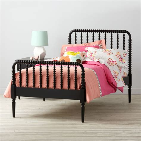Jenny Lind Kids Bed Black The Land Of Nod Lind Bed