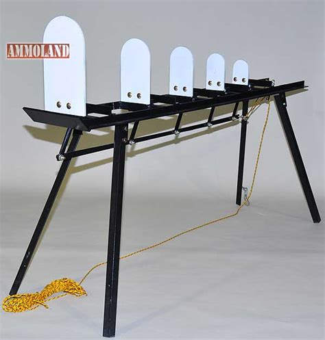 Steel Target Plate Rack by Custom Metal Products Intros New Shooting Targets At 2013
