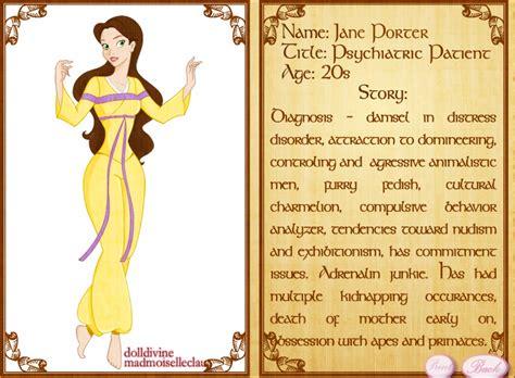 tg disney princess princess psychosis jane by catrionamalfoy on deviantart