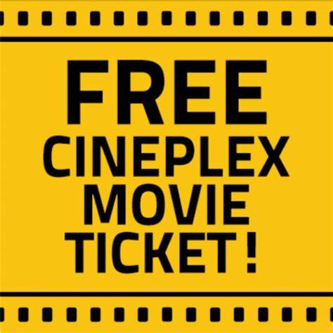 cineplex food coupons 10 dundas east canada deal free cineplex movie ticket