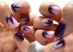 Nail Art Tutorial Flower Nails Black And » Home Design 2017