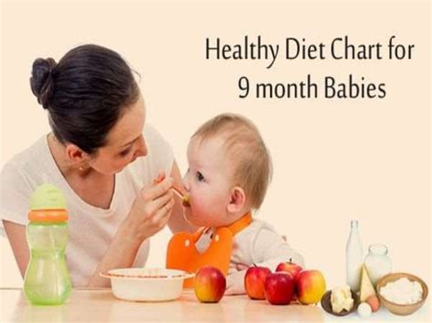 protein 6 month baby healthy diet plan for 9 month babies