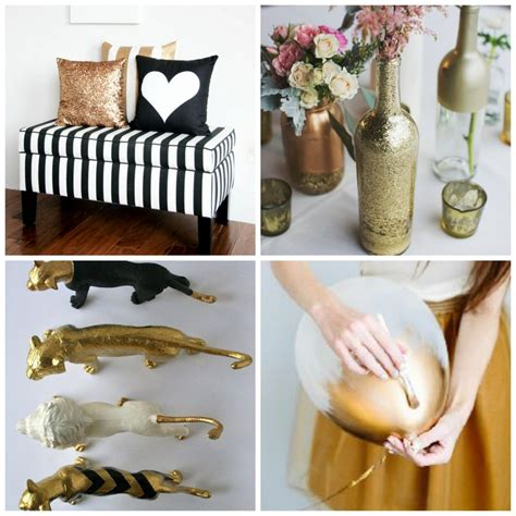 Black And Gold Baby Shower Decorations by Baby Shower In Black White And Gold Chic Original