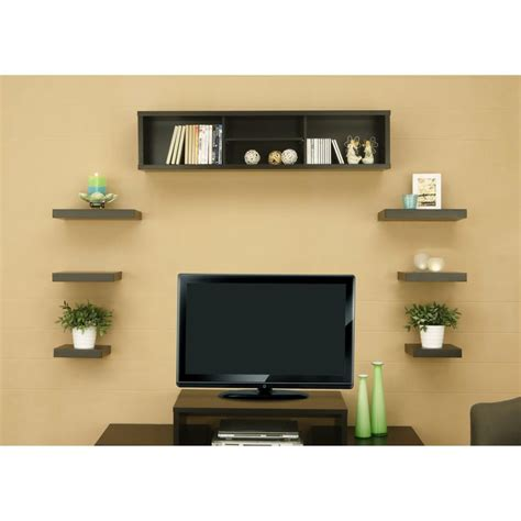 floating shelves around tv 25 best ideas about shelves around tv on