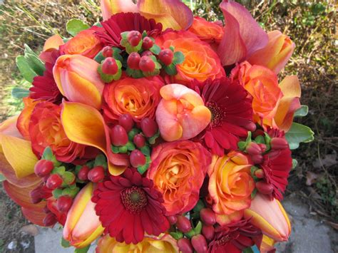 fall flowers sisters floral design studio lush fall colors